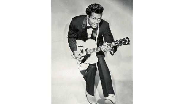 Chuck Berry (about 1958/public domain)