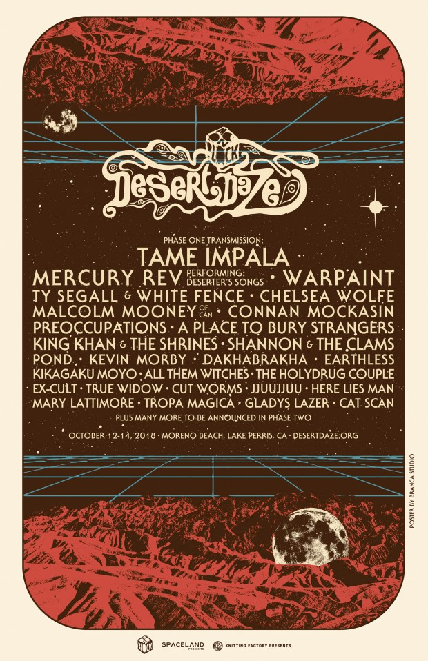 Desert Daze will happen Oct. 12-14 at the Lake Perris State Recreation Area. (Courtesy of Desert Daze)