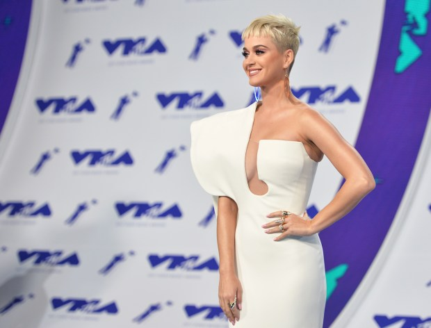 One of two nunsfighting a court ruling involving the sale of a former Los Feliz convent to singer Katy Perry collapsed and died Friday during a court hearing on the matter. Perry is seen above at the 2017 MTV Video Music Awards at the Forum in Inglewood. (2017 photo by Alberto E. Rodriguez/Getty Images)