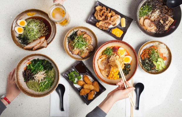 Yoshiharu Ramen restaurants are now offering military and first responder discounts. (Photo courtesy of Yoshiharu Ramen).