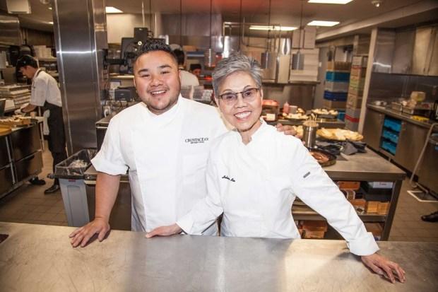 Chef Tony Nguyen and Chef Helene An