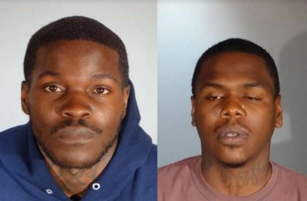 Marquis Turner (left) and Anthony Edwards. (Courtesy photos)