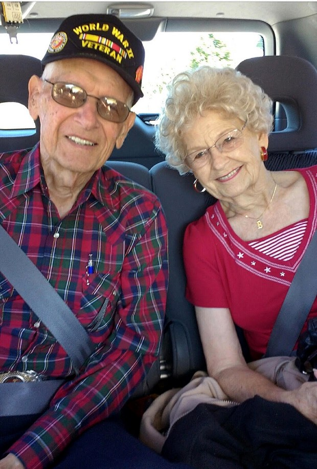 David and Elizabeth Morse looking back after 70 years of marriage. (Courtesy Photo)