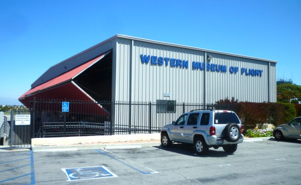 The Western Museum of Flight opened at Torrance Municipal Airport in 2007. March 2018 photo by Sam Gnerre