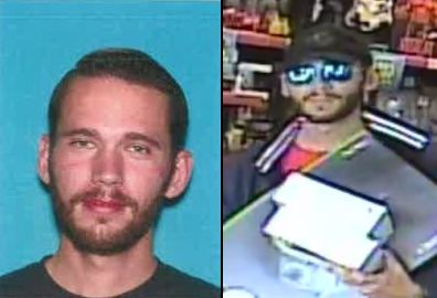 Daniel Joseph Carver, 29, accused of shooting at two LAPD officers, wounding one in the leg in the Woodland Hills, is also suspected in a string of San Fernando Valley holdups. He was killed in a shootout with the two officers. (Images courtesy of the Los Angeles Police Department)