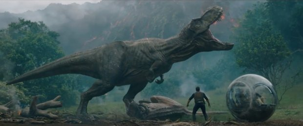 "Summer 2018's sequel-rich release schedule includes ""Jurassic World: Fallen Kingdom."""