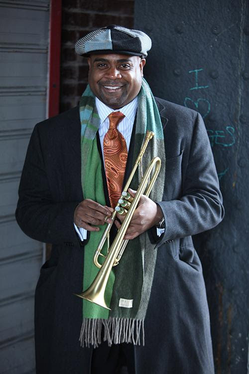 """Trumpeter Terell Stafford will perform in """"Ella and Louis"""" on May 4 at Meng Concert Hall. (Photo courtesy of Terell Stafford)"""