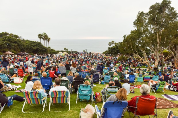 A shot of the crowd at the OC Parks Summer Concert Series at Bluff Park at Salt Creek Beach in Dana Point in 2017. (Photo courtesy of OC Parks)