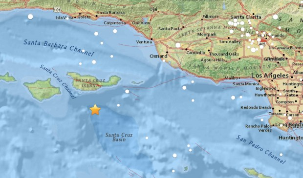 Earthquake Near Channel Islands Today Rattles Much Of Los Angeles