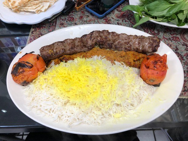 Persian food at this Reseda restaurant lives up to the name