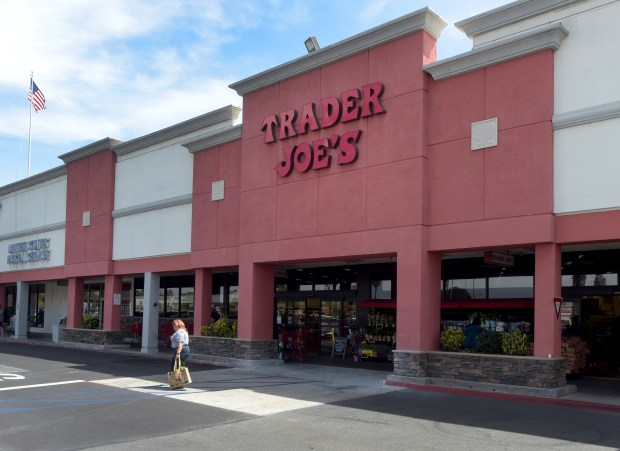 The Trader Joe's at Bellflower Boulevard and Stearns Street in Long Beach, seen on Tuesday, April 24, 2018, is one of the stores recently hit by armed robbers. (Photo by Dean Musgrove, Los Angeles Daily News/SCNG)