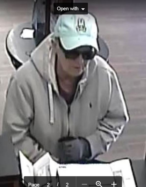 Detectives are looking for the woman who robbed a US Bank in Pasadena on April 14, 2018. (Courtesy photo Pasadena Police Department)