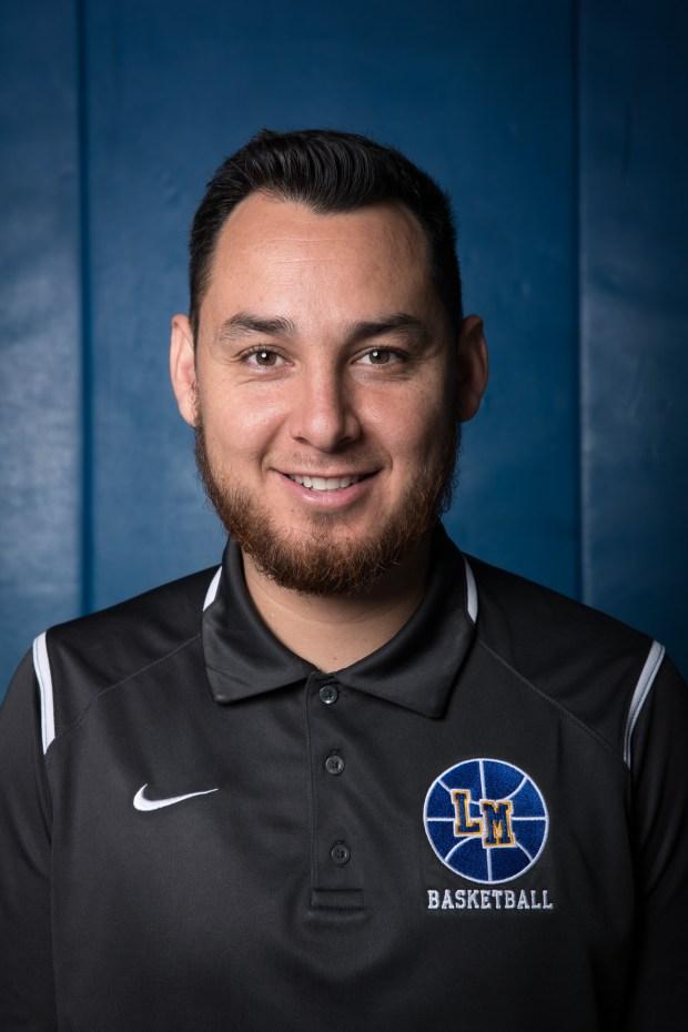 La Mirada head coach Randy Oronoz, which is the 2018 Boys Basketball Coach of the Year, poses for a portrait at La Mirada High School in La Mirada, Calif. on Thursday April 5, 2018. (Photo by Raul Romero Jr, Contributing Photographer)