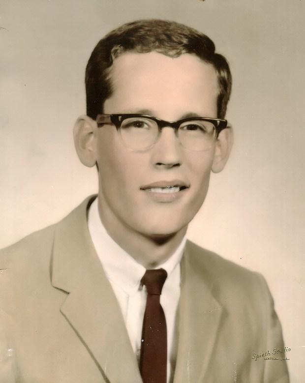 Rick King's 1965 high school graduation photo. (Photo Courtesy of Rick King)