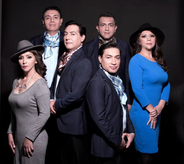 Los Angeles Azules will bring their cumbia music to Coachella with performances Friday April 13 and 20. Photo courtesy the band