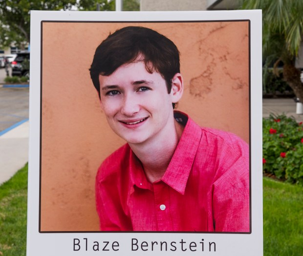 Blaze Bernstein (Photo by Leonard Ortiz, Orange County Register/SCNG)