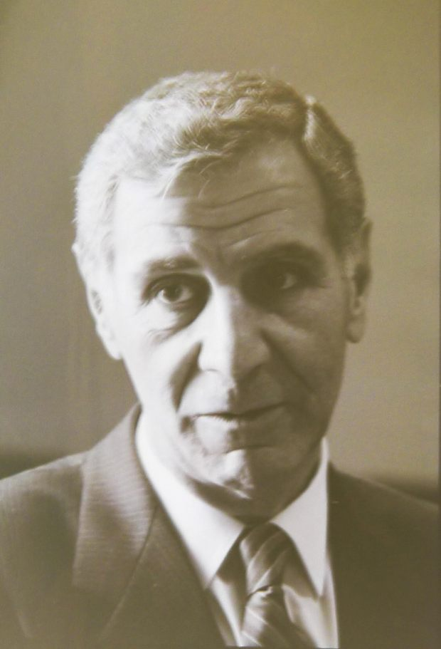 George Deukmejian circa 1990 at the California State University Office of the Chancellor in Long Beach. (Photo By Charles Bennett)