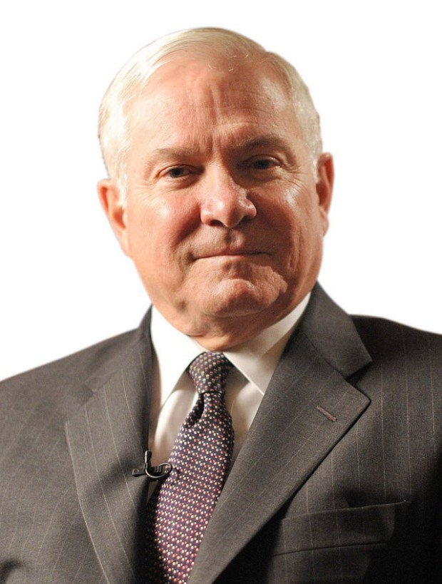 Robert Gates, former secretary of defense and CIA director, will offer a look at leadership and international relations at a luncheon June 15. (Photo by Keith Bedford/Bloomberg)