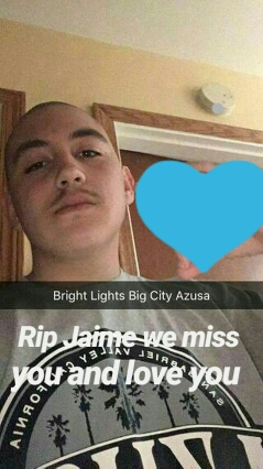 Jaime Butanda was shot to death in the 300 block of South Enid. (Photo courtesy of the Butanda family.)