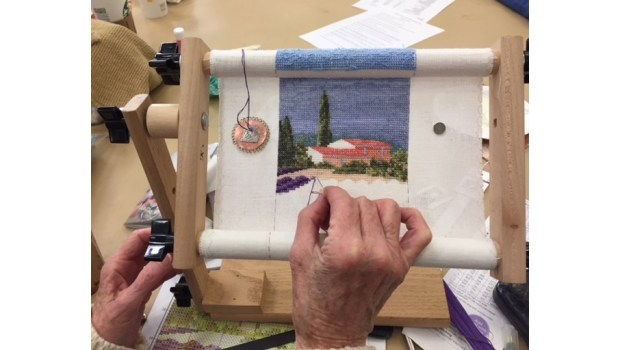 The Channel Islands Chapter of the Embroiderers' Guild of America meets on May 23 in Camarillo. (Photo courtesy of the Channel Islands Chapter)