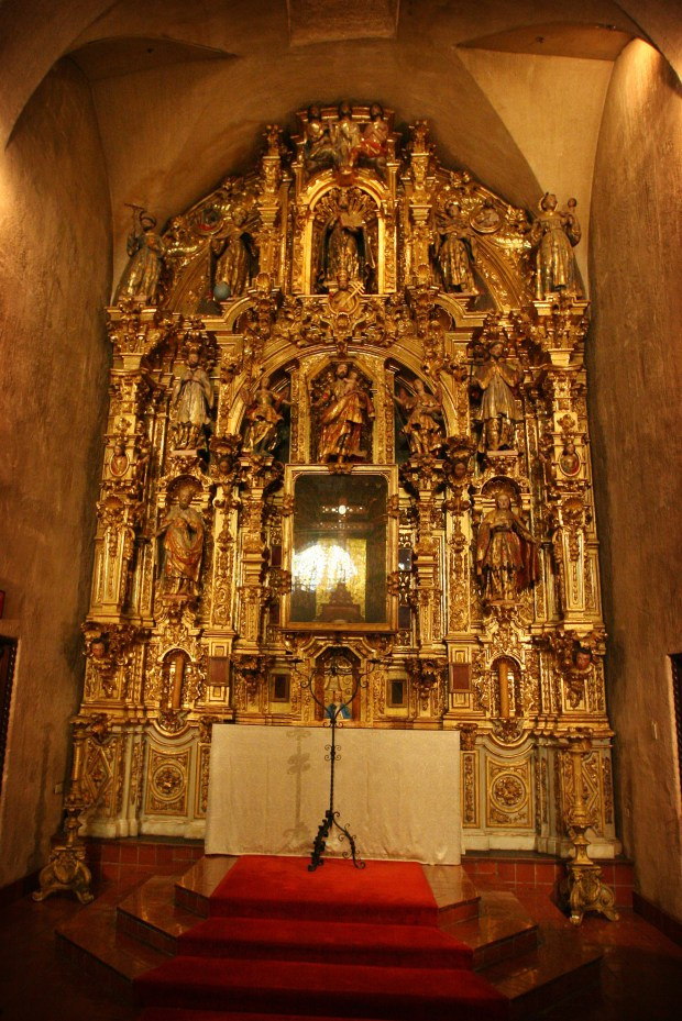 The ornate altar in the chapel at the Mission Inn, as seen in 2016.File photo by Kurt Miller, The Press-Enterprise/SCNG