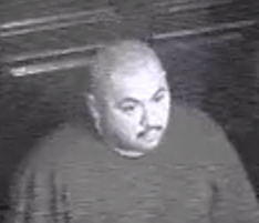 Signal Hill police said on May 2, 2018, that they are looking for this man in connection with a beer-bottle attack at the Fantasy Castle strip club. (Courtesy Signal Hill police)
