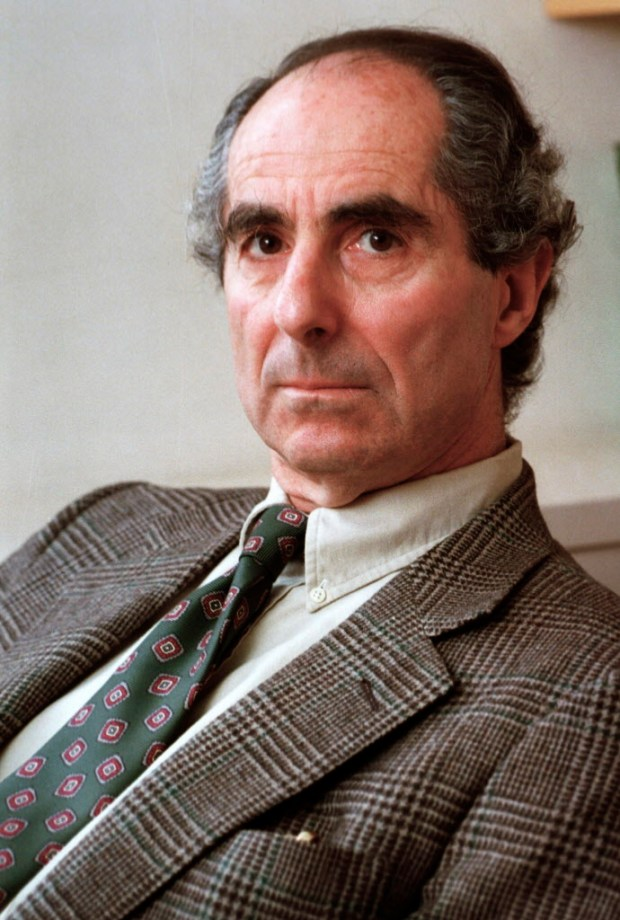 "In this March 22, 1993, file photo, American author Philip Roth is seen during an interview promoting his  book ""Operation Shylock: A Confession,"" in New York. His literary agent, Andrew Wylie, said Roth died Tuesday night, May 22, 2018, of congestive heart failure. (AP Photo, File)"