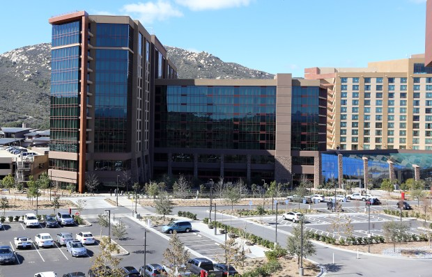 Pechanga Resort Casino near Temecula will be the site of the Mt. San Jacinto College commencement ceremonies May 25. Graduation moves to the venue after 15 years at the Ramona Bowl in Hemet. (File photo by Frank Bellino, The Press Enterprise/SCNG)