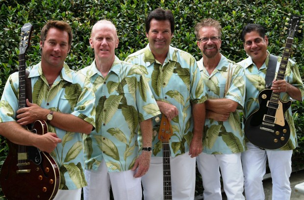 Surf City Allstars, with original Beach Boy member David Marks, will perform June 29.(Courtesy photo)