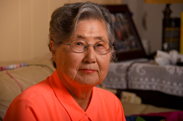 Grace Ahn at her home in Seal Beach on Thursday, Jun 7, 2018. Grace fled from North Korea to South Korea with her family when she was 9 or 10 during the Korean War. She married her husband of 51 years, Matthew Ahn, in the South before emigrating to the U.S. and settling in Chicago. (Photo by Scott Varley, Contributing Photographer)