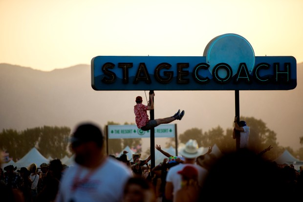 Dates and advance on sale information have been announced for the 2019 Stagecoach Country Music Festival in Indio. (Photo by Matt Masin, contributing photographer)