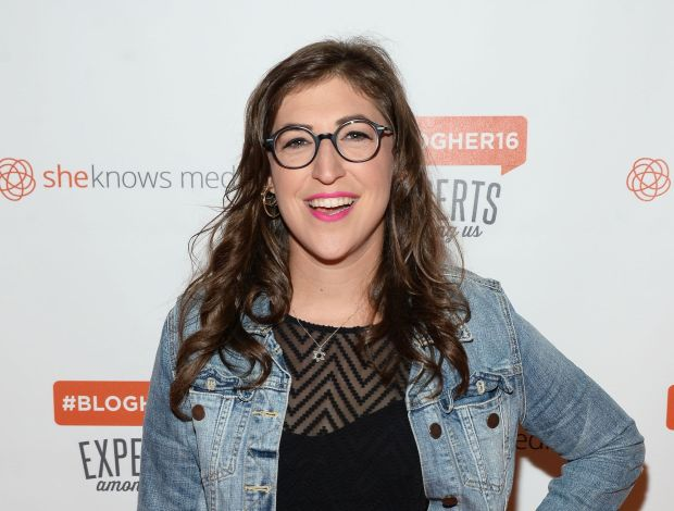 """Big Bang Theory"" star Mayim Bialik, who holds bachelor's and doctoral degrees from UCLA, is the commencement speaker at the UCLA College graduation on Friday, June 15, 2018. (File photo by Matt Winkelmeyer/Getty Images)"