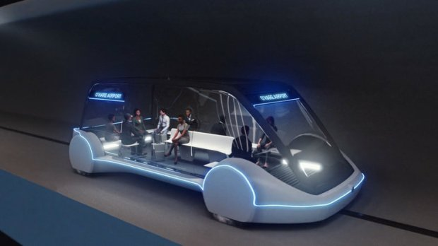 The Boring Company shared this image of a proposed Chicago underground transit system. Courtesy photo