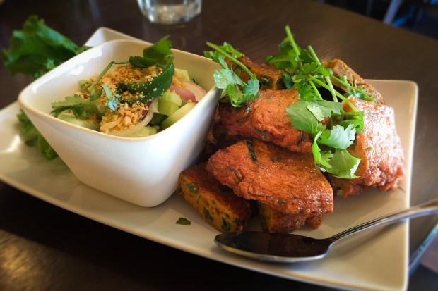 Red chili fish cakes at Chada Thai in Garden Grove. (Photo by Brad A. Johnson, Orange County Register/SCNG)
