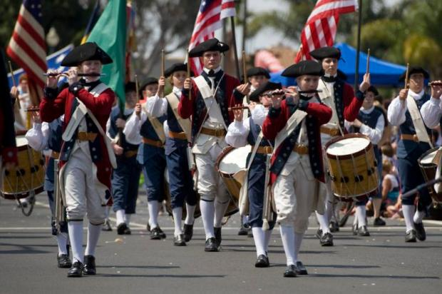 The annual parade in Huntington Beach markes its 113th year this Fourth of July. (Register file photo)