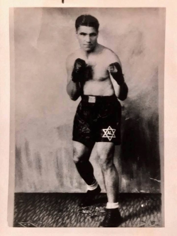 Al Lang, Ken Sheer's grandafther, was a boxer before opening his own gym in Long Island, N.Y. (Photo courtesy of Ken Sheer)
