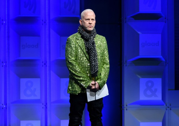 BEVERLY HILLS, CA - APRIL 12: Ryan Murphy speaks onstage at the 29th Annual GLAAD Media Awards at The Beverly Hilton Hotel on April 12, 2018 in Beverly Hills, California. (Photo by Vivien Killilea/Getty Images for GLAAD)