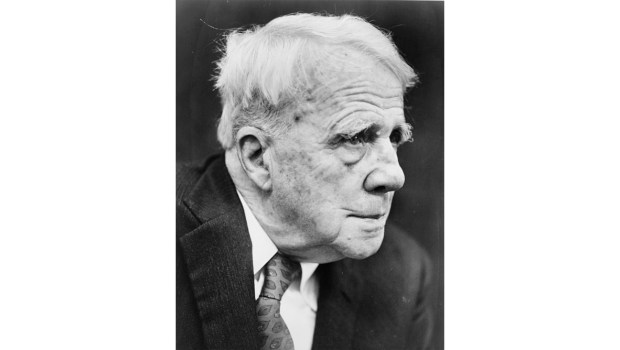 Robert Frost, 1959 (Photo by Walter Albertin/New York World Telegram & Sun Collection at the Library of Congress)
