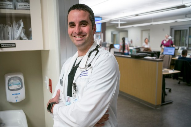 Dr. Alp Arkun, Chief of Emergency Medicine at Kaiser Permanente in Fontana, CA. (Photo by David Crane, Los Angeles Daily News/SCNG)