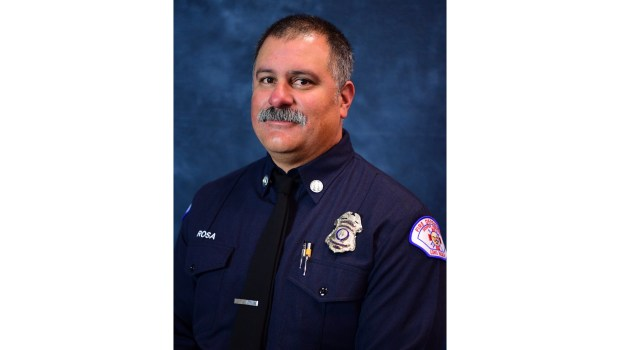 Long Beach Fire Department Capt. Dave Rosa, 45, was killed after being struck by gunfire while responding to reports of an explosion at Covenant Manor in Downtown Long Beach. (Photo courtesy of Long Beach Fire Department)