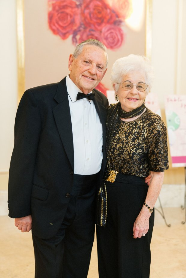 Saddleback Memorial Foundation Gala at Monarch Beach Resort on June 2, 2018. Laguna Woods residents Martin and Roslyn Rhodes were featured as grateful patients in the gala video. (Courtesy of SMF)