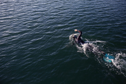 Ben LeComte, the first person to swim across the Atlantic Ocean, will attempt to swim across the Pacific Ocean in 2018 in partnership with AltaSea in San Pedro. Submitted Photo