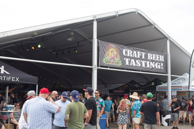 The OC Brew Hee Haw at the OC Fair & Event Center in Costa Mesa. The beer festival returns to the fair this year on July 14-15 (Photo by Drew A. Kelley, Contributing Photographer)