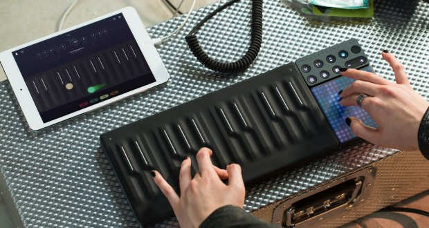ROLI Instruments is offering Ticketmaster e-gift cards with select purchases. (Photo courtesy of ROLI Instruments).