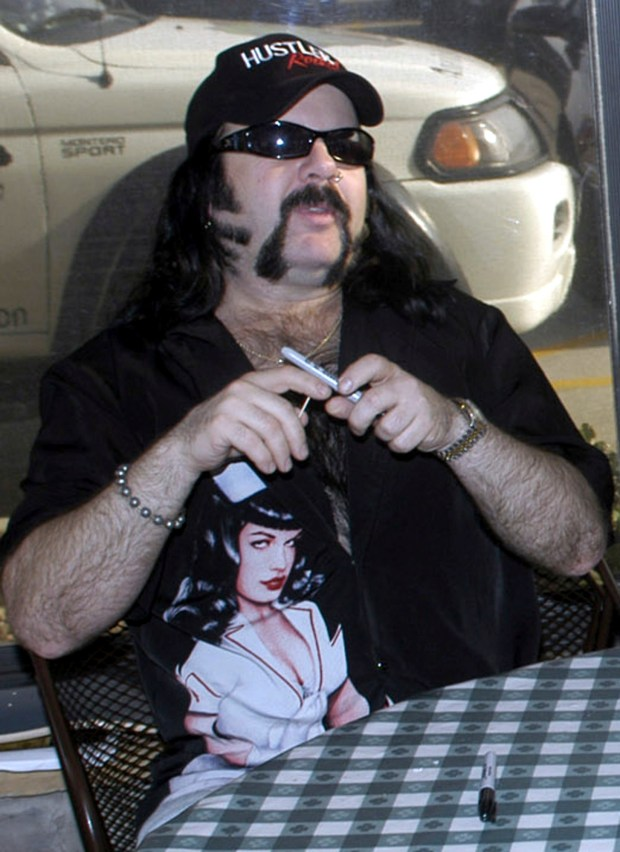 In this May 20, 2004 file photo shows Vinnie Paul Abbott in Amarillo, Texas. Paul, co-founder and drummer of metal band Pantera, has died at 54. Pantera's official Facebook page posted a statement early Saturday, June 23, 2018 announcing his death. Paul's representative confirmed the death to Billboard. No cause of death was mentioned. Paul's real name was Vincent Paul Abbott. He and his brother, Dimebag Darrell, formed Pantera in 1981.(AP Photo/Ralph Duke, File)