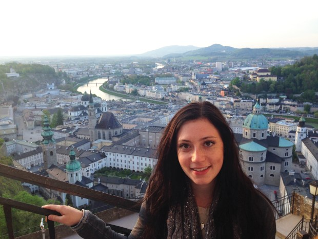 Gabrielle Kanter, a 2017 graduate of the University of Redlands, participated in the study abroad program in Salzburg, Austria. (Photo courtesy of University of Redlands)
