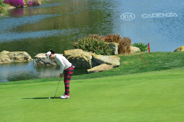 In March, the LPGA Kia Classic tournament takesover the greens at Park Hyatt Aviara Resort, Golf Club & Spa.
