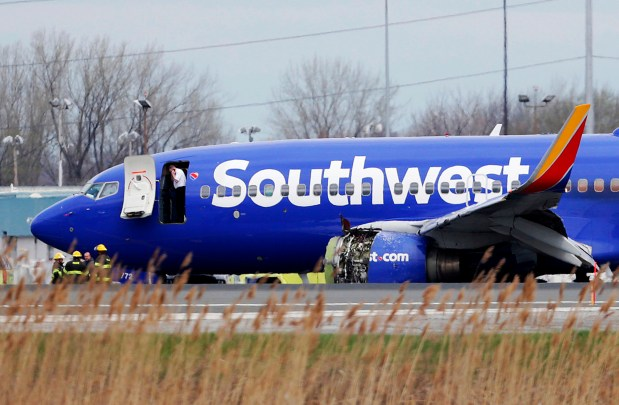 Chilling details recount fatal Southwest flight that pulled woman out window