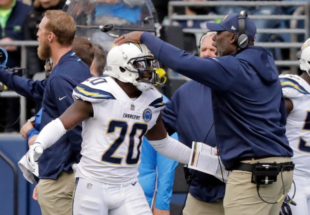 Chargers defensive backs carefully study for test against Steelers Antonio Brown, JuJu Smith-Schuster