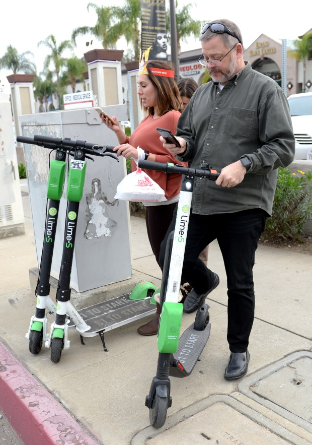 E-scooters have arrived in the San Fernando Valley  Will they sink